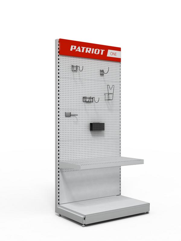Рекламная стойка для магазина хозтоваров
