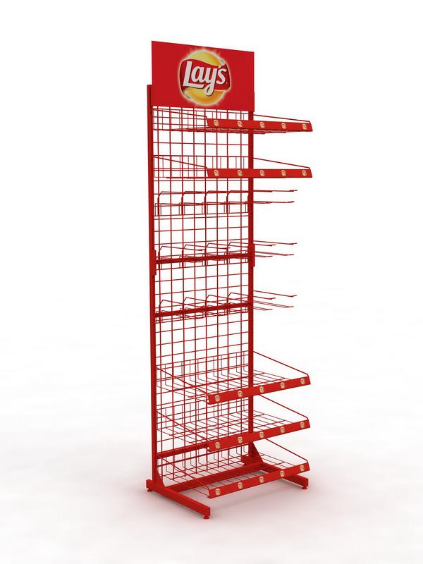 Рекламная стойка сетка для продуктов питания