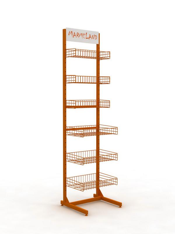 Рекламная стойка для торговли специями