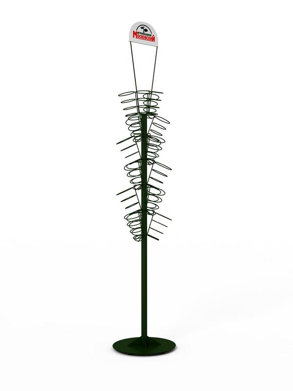 Торговая стойка-дерево металлическая